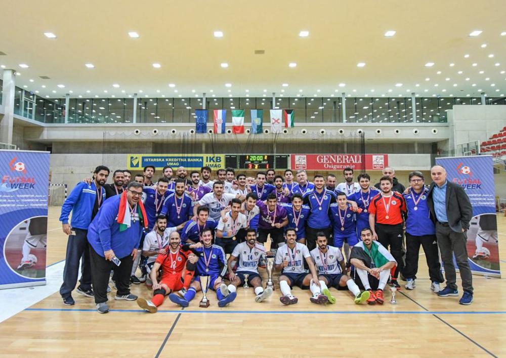 Kuwait won Futsal Week Winter Cup – Novigrad 2018