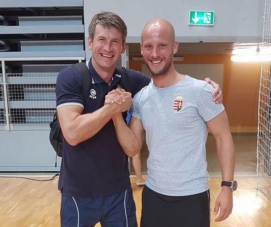Marci Holo and Alexander Golban talk about Futsal Week!