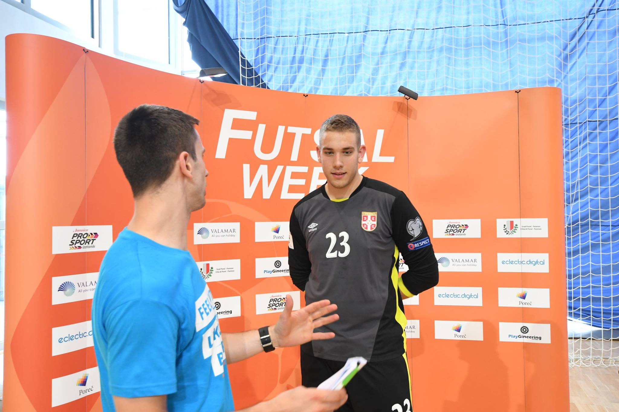 Where to find photos, videos and all Futsal Week content?